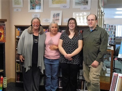 My first SOLO show! Thank you Tuftonboro Library!