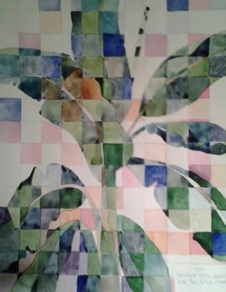 Exersice for class- Study of Ida Ten Eyck O'Keefe's Banana Tree Leaves 1939