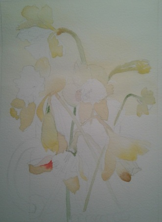 the underpainting