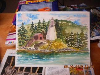 Light house on Campbello Island - Canada