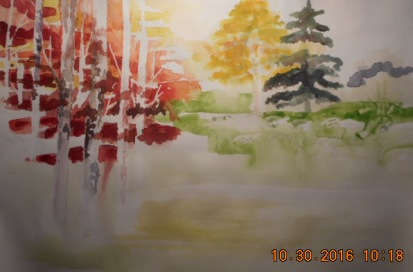 W.I.P still working on filling in the trees and leaves