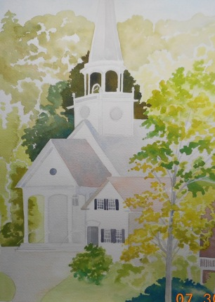 Bradford NH Church