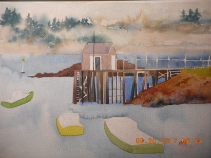 W.I.P. Prospect Harbor- the sky got away from me :O)